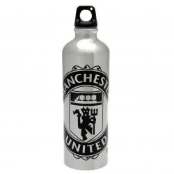 Láhev na pití Manchester United FC hliníková XL světlá