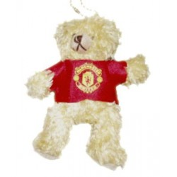 Mini medvídek Manchester United FC na klíče