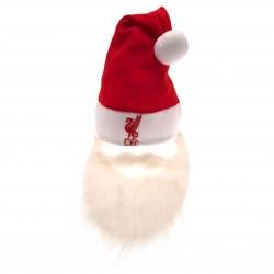Vánoční čepice s plnovousem Liverpool FC