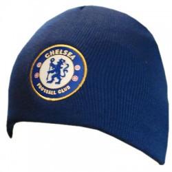 Zimní čepice Chelsea FC tmavě modrá (bez lemu)