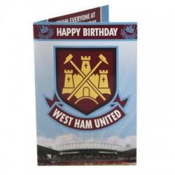 Hrací blahopřání k narozeninám West Ham United FC