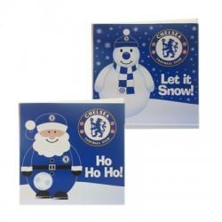 Vánoční přání Chelsea FC (10 ks)