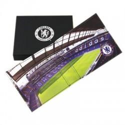 Kožená peněženka Chelsea FC stadion