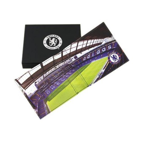 Kožená peněženka Chelsea FC stadion - Sportmoda.cz