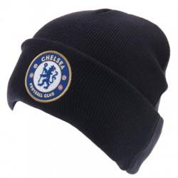 Zimní čepice Chelsea FC tmavě modrá (s lemem)