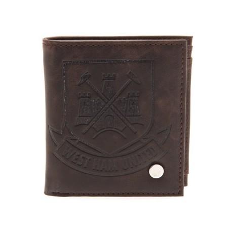 Luxusní peněženka West Ham United FC hnědá