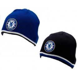 Zimní čepice Chelsea FC oboustranná