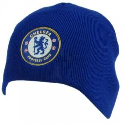 Zimní čepice Chelsea FC světle modrá (bez lemu)