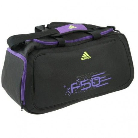 Sportovní taška Adidas 16 černá s fialovou
