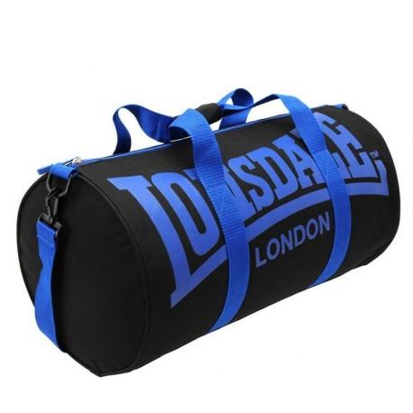 Sportovní taška Lonsdale Barrel 13 černá s modrou