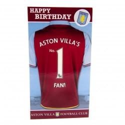 Blahopřání k narozeninám No1 Aston Villa FC
