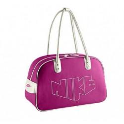 Taška přes rameno Nike Heritage 76 růžovofialová