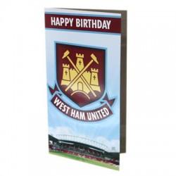 Blahopřání k narozeninám West Ham United FC