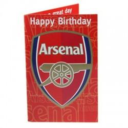 Hrací blahopřání k narozeninám Arsenal FC