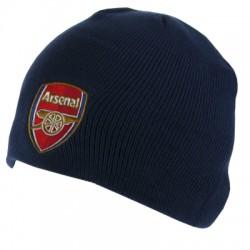 Zimní čepice Arsenal FC tmavě modrá (bez lemu)