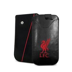 Kožené pouzdro na mobil Liverpool FC (typ větší)
