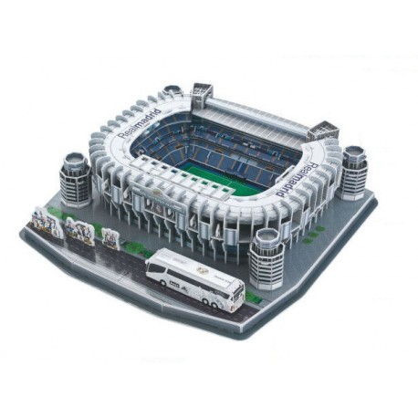 Puzzle 3D stadion Real Madrid