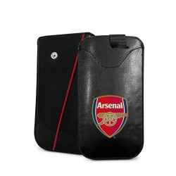 Kožené pouzdro na mobil Arsenal FC (typ větší)