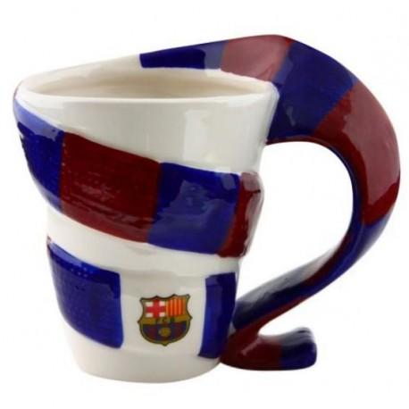 Hrnek ve tvaru šály Barcelona FC
