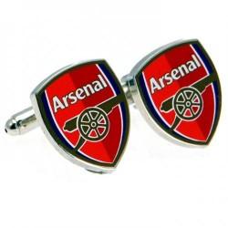Manžetové knoflíčky Arsenal FC červené