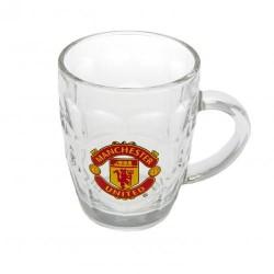 Pivní sklenice s uchem Manchester United FC (typ TK)