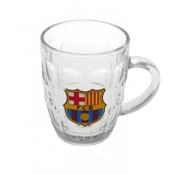 Pivní sklenice s uchem Barcelona FC (typ TK)