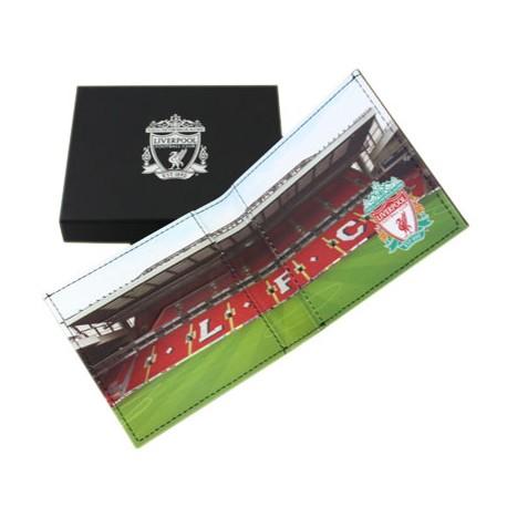 Kožená peněženka Liverpool FC stadion
