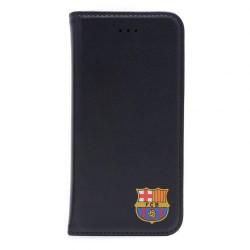 Kožené pouzdro smart na iPhone 6 Barcelona FC