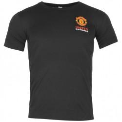 Pánské tričko Manchester Untied FC černé (typ Stockholm) velikost S