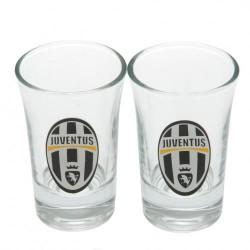 Sada 2ks skleniček panáků Juventus Turín FC