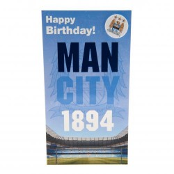 Blahopřání k narozeninám Manchester City FC (typ EST)