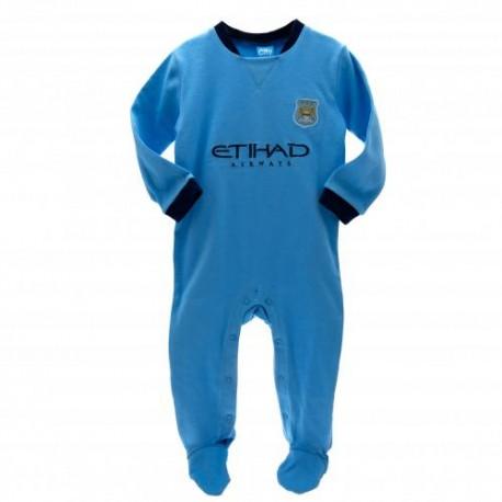Kojenecké pyžamo Manchester City FC (typ MC) velikost 12-18 měsíců