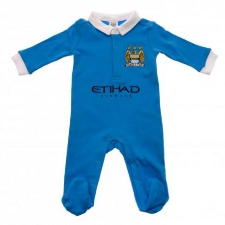 Kojenecké pyžamo Manchester City FC (typ WT) velikost 9-12 měsíců