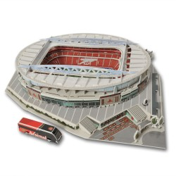 Puzzle 3D stadion Emirates Arsenal FC