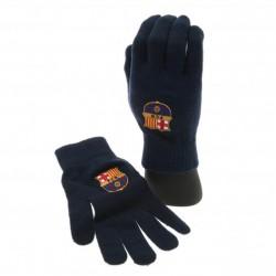 Zimní rukavice Barcelona FC tmavě modré