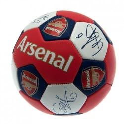 Fotbalový míč Arsenal FC Nuskin s podpisy (velikost 3)