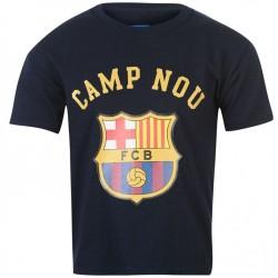 Dětské tričko Barcelona FC tmavě modré (typ 41) velikost 7-8 let