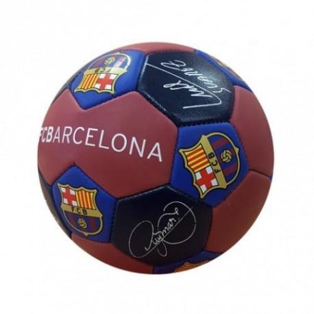 Fotbalový míč Barcelona FC Nuskin s podpisy (velikost 3)