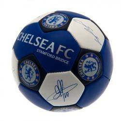 Fotbalový míč Chelsea FC Nuskin s podpisy (velikost 3)