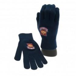 Zimní rukavice West Ham United FC tmavě modré