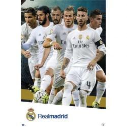Plakát Real Madrid FC hráči (typ 65)