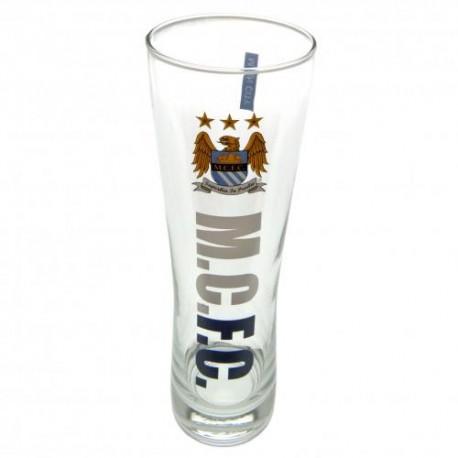 Pivní sklenice vysoká Manchester City FC (typ WM)