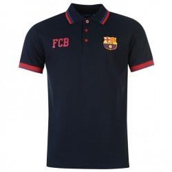 Pánské tričko polo Barcelona FC tmavě modré (typ 69) velikost XL