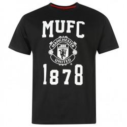 Pánské tričko Manchester United FC černé (typ 30) velikost S