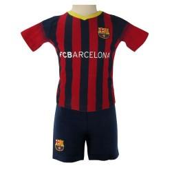 Kojenecké tričko a šortky Barcelona FC (typ BS) velikost 3-6 měsíců