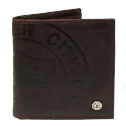 Luxusní peněženka Manchester City FC hnědá