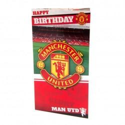 Blahopřání k narozeninám Manchester United FC (typ stadion)