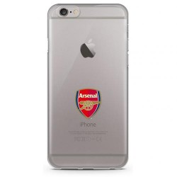 Kryt průhledný na iPhone 6 Arsenal FC