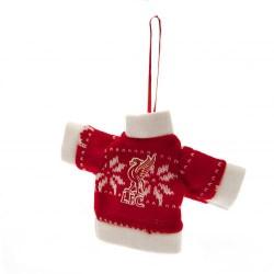 Vánoční ozdoba pletený svetr Liverpool FC