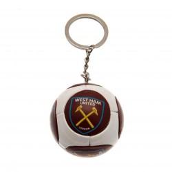 Přívěsek na klíče fotbalový míč West Ham United FC
